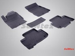 Резиновые коврики в салон SSANG YONG REXTON III (2012-)