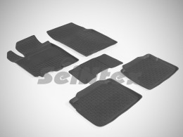 Резиновые коврики в салон SUZUKI SX4 (2014-)