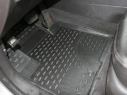 КОВРИКИ 3D В САЛОН NOVLINE Hyundai Santa Fe (с 2010 г.), полиуретан