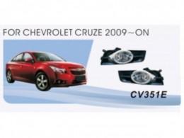 Противотуманные фары  Chevrolet Cruze (2009-13)