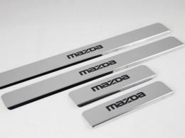 Накладки на пороги МAZDA CX-5 (краска)