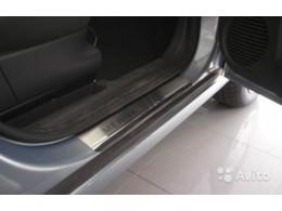 Накладки на пороги Opel MERIVA I (2002)