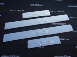 Накладки на пороги МAZDA CX-7