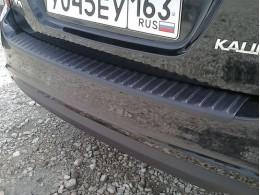 Накладка на задний бампер Лада Калина седан (2004-)