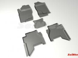 Резиновые коврики с высоким бортом для Nissan Pathfinder III 2004-2014