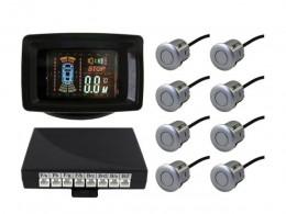 Парктроник SilverStar LCD-088 8 датчиков