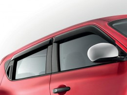 Дефлекторы окон Nissan Juke (YF15) широкие