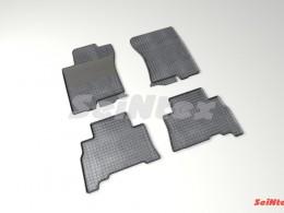 Коврики резиновые (рисунок Сетка) для Toyota Land Cruiser Prado 150 2009-2013