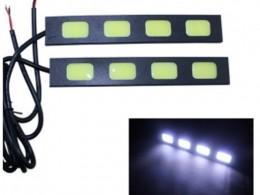 Ультратонкие ходовые огни 4 COB 11,5 см