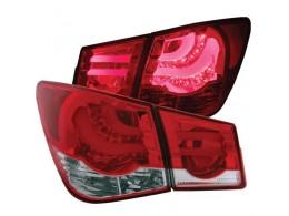 Задние тюнинг фонари для Chevrolet Cruze в стиле BMW F-Series